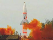 Prithvi-II missile successfully test fired