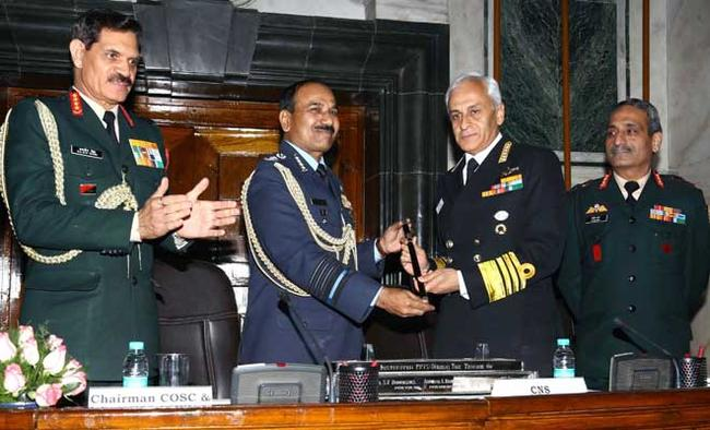 Navy Chief takes over Chairman, Chiefs of Staff Committee
