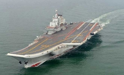 China''s second aircraft carrier almost complete