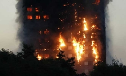 Several killed as huge blaze engulfs London tower block