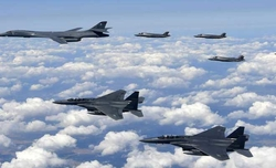 US bombers stage N.Korea show of force