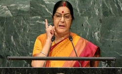 Chinese daily chides Sushma over UN speech against Pakistan