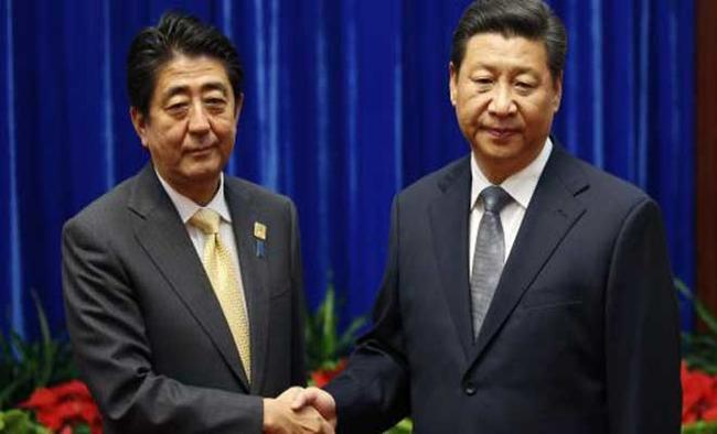 China, Japan come close under shadow of Trump
