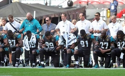 Trump asks NFL to suspend anthem protesters