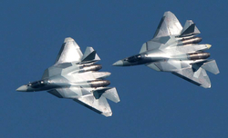 Russia launches mass production of Su-57 fighters