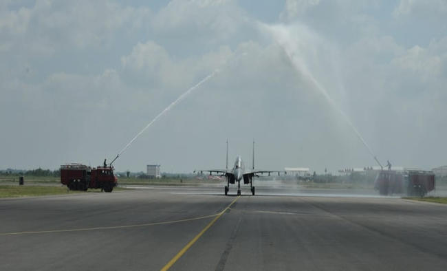 First Su-30 MKI squadron inducted in Thanjavur