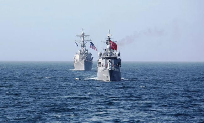 Turkish-US Navies conduct maritime exercise in Black Sea