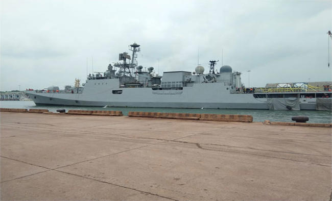 2 more Indian Navy ships bring oxygen to K'taka from Kuwait