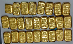 Two Rohingyas held with gold biscuits in UP