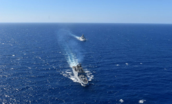 India, Italy carry out maritime drill to enhance military ties
